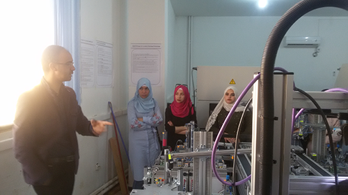Visite officielle à Université Abou Bekr Belkaid Tlemcen